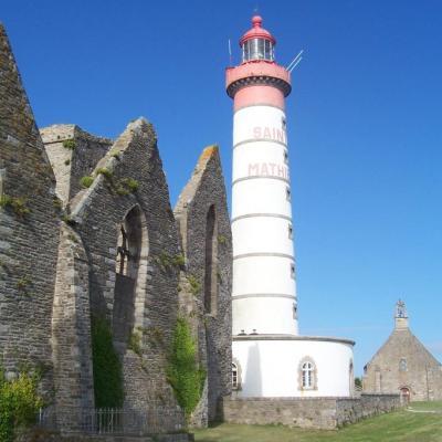 Le phare de la pointe Saint Mathieu
