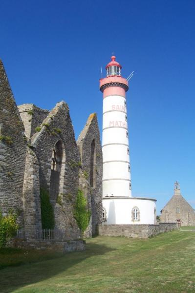 Le phare de la pointe Saint Mathieu