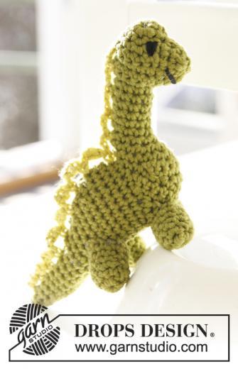 Amigurumi dinosaure
