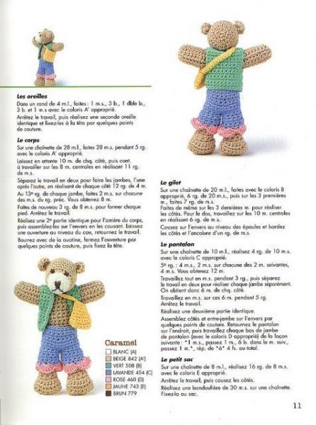 Amigurumi Au Crochet Modele Gratuit : Site de crochet avec de nombreux modeles damigurumi