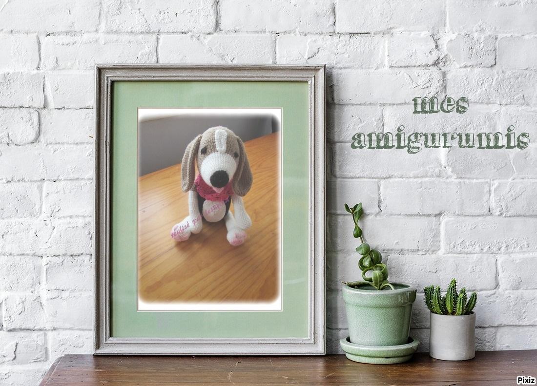 Beagle au crochet