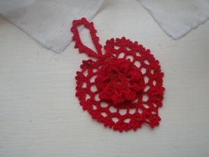 Coeur en crochet 1
