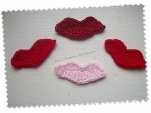 Des baisers au crochet