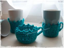Dessous de tasse au crochet 1