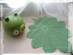Dessous de tasse feuilles