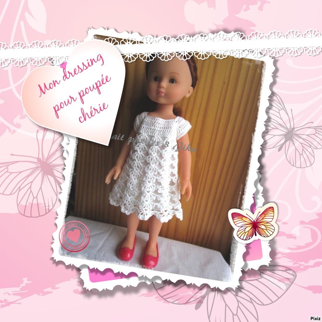 dressing pour poupée chérie de  corolle