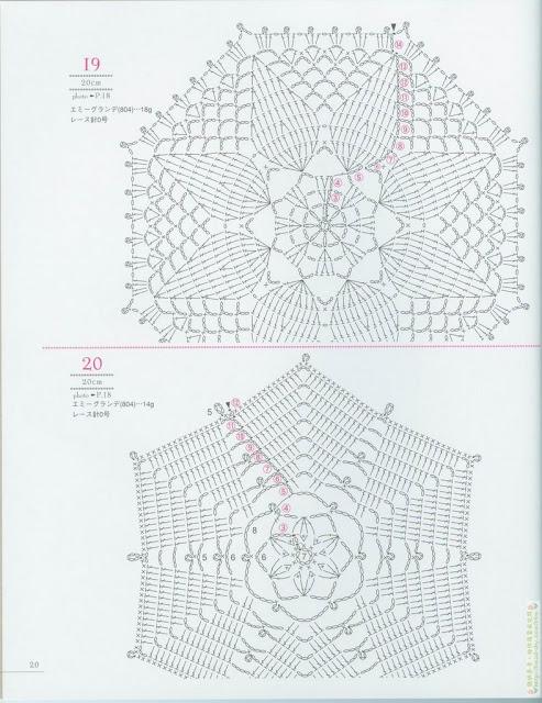 grilles gratuites photophores et dessous de verre en crochet. Black Bedroom Furniture Sets. Home Design Ideas