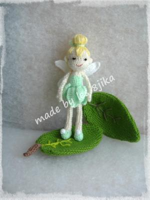 La fee clochette au crochet