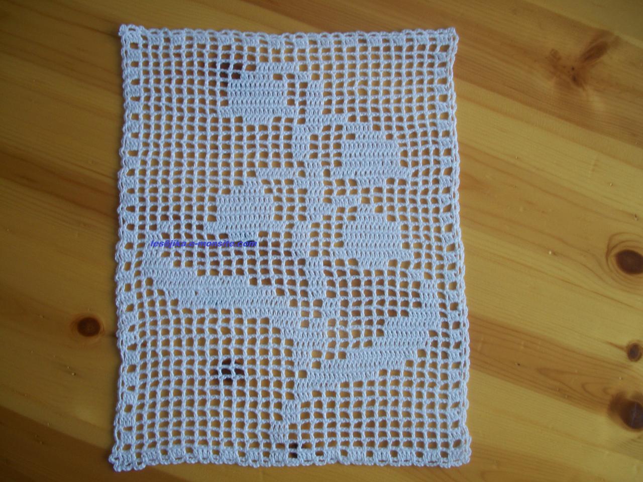 Site De Crochet : site de crochet et grilles gratuites , napperon muguet