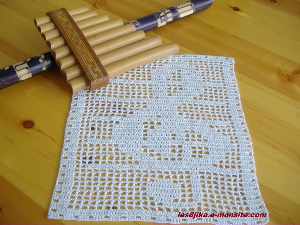 Napperon - Napperon crochet grille gratuite ...