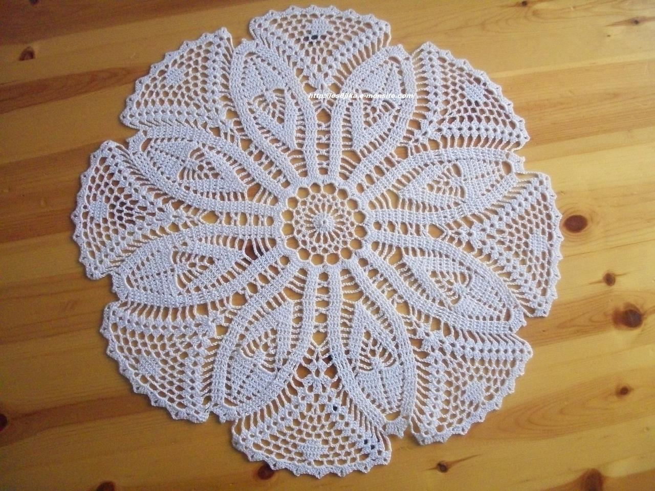 Modeles crochet gratuit napperons